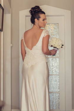 Georgia in Issa Gown