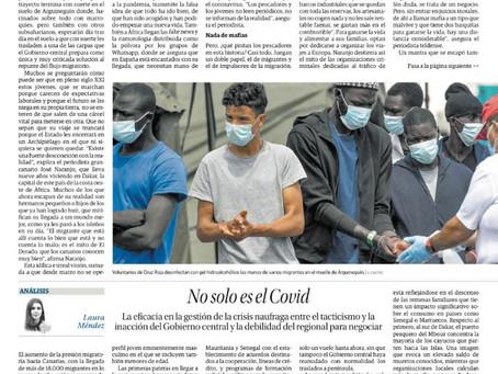 No solo es el Covid. Análisis de las causas de la actual crisis migratoria en Canarias