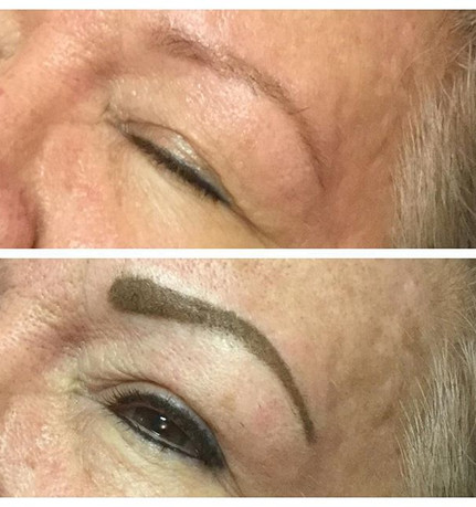 Before and after eyebrow#brow#dayspa
