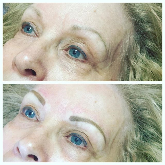 #microbladingeyebrows #dayspa#eyebrows #
