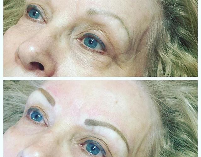 #microbladingeyebrows #dayspa#eyebrows #