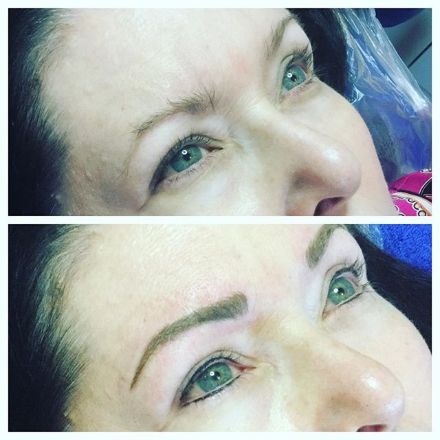 #tampabrows#permanentmakeup #microbladin