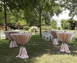 Blush Pink Tables