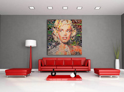 Marilyn_hall_ canape rouge