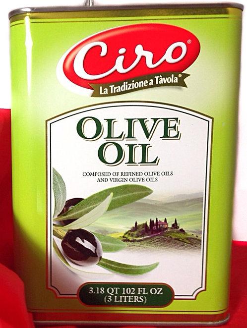OLIVE OIL CIRO  TINS  PK/SZ:  4/3 LIT