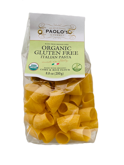 Paccheri Organic Gluten Free 12/250 ml