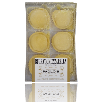 Ravioli Filled With Burrata Paolo's Gourmet