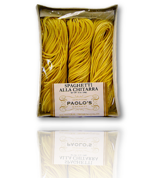 Spagheti Alla Chitarra PAOLOS FRESH PASTA 12/13oz