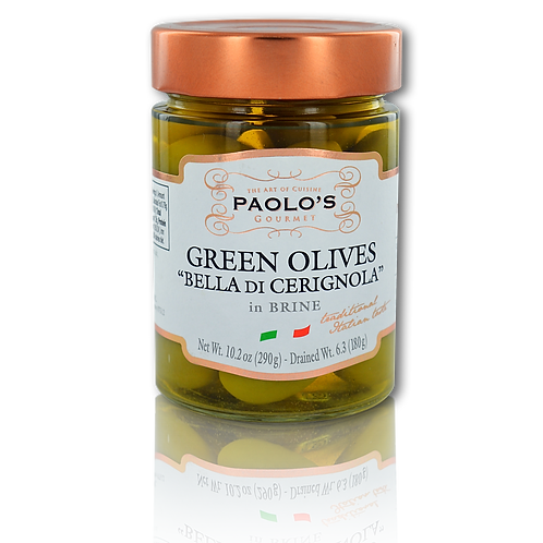 GREEN OLIVES CERIGNOLA