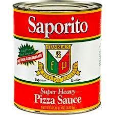 Pizza Sauce Heavy Saporito