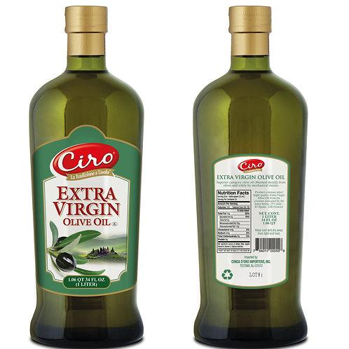 EXTRA VIRGIN Olive Oil 12/1liter