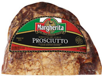 Prosciutto Domestic Halves Margherita 2/4.5 lb