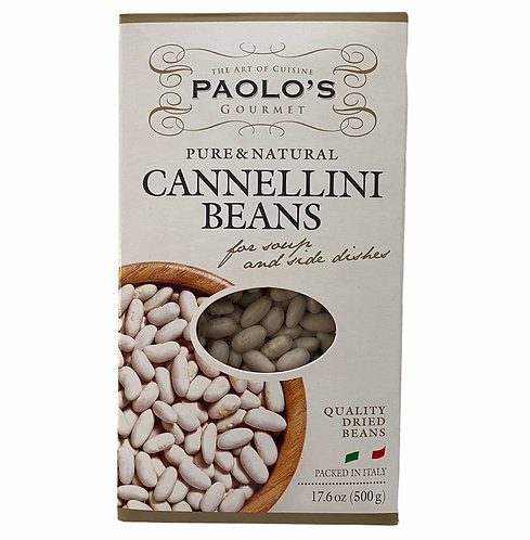 CANNELLINI WHITE BEANS DRY PK/SZ: 20/500 GR