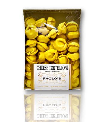 Cheese Tortelloni Paolo's Fresh Pasta 12/13 oz