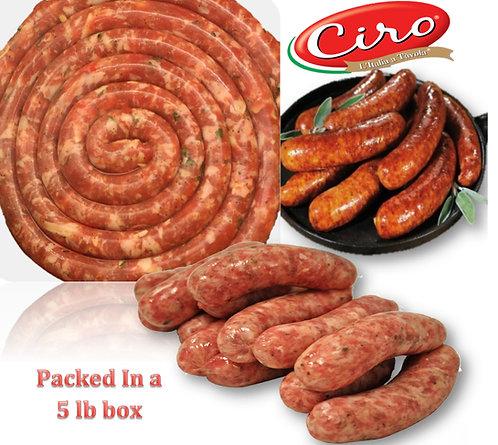 Sausage Sweet & Hot 2/5 lb