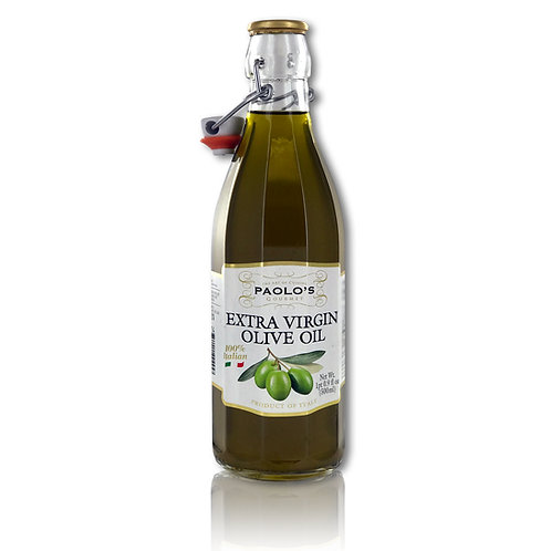 PAOLO'S EXTRA VIRGIN OLIVE OIL UNFILTERED 12/500 ML