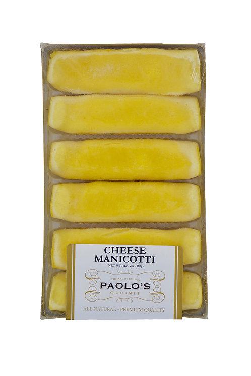 Manicotti Fresh Paolo's Fresh Pasta 12/6 pc