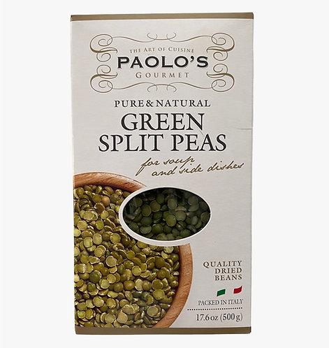 GREEN SPLIT PEAS DRY  PK/SZ:  20/500 GR