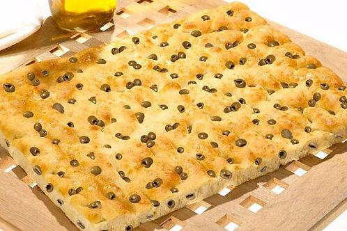 Forno D`Asolo Italian Focaccia Bread with Olives