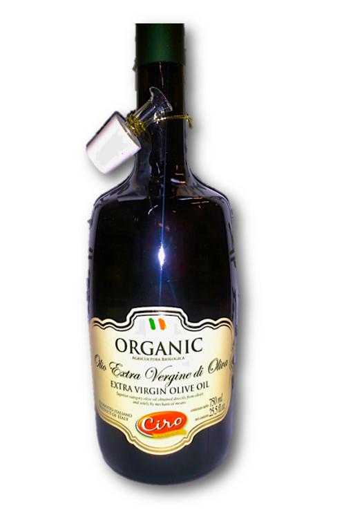 ORGANIC CIRO EXTRA VIRGIN OIL 6/750 ml