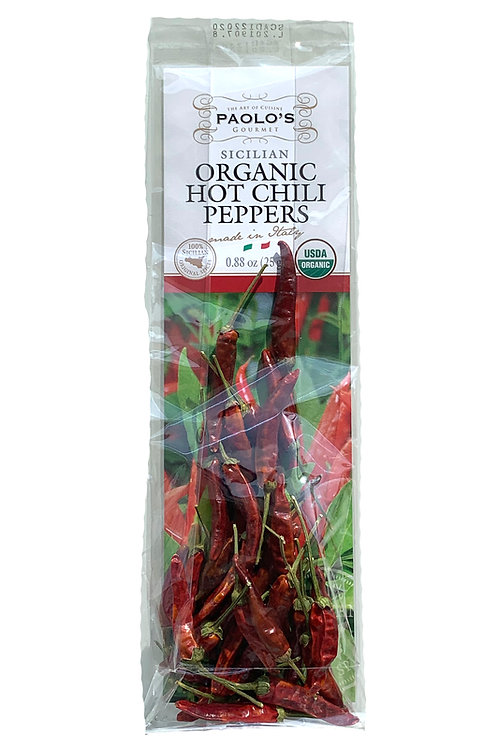 Organic Hot Chili Peppers
