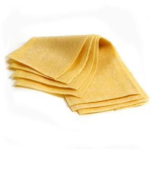 Prontosfoglia Gialla (Yellow Sheet Pasta)