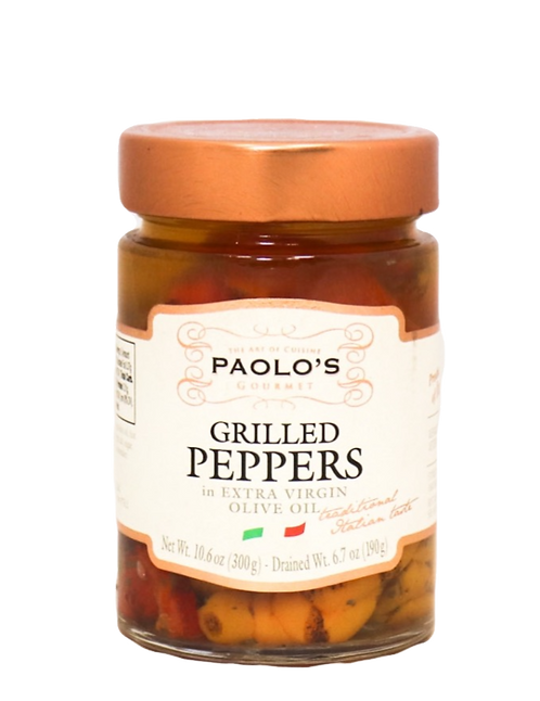 Peppers Grilled in EV Olive Oil PK/SZ:  6/10.6 OZ