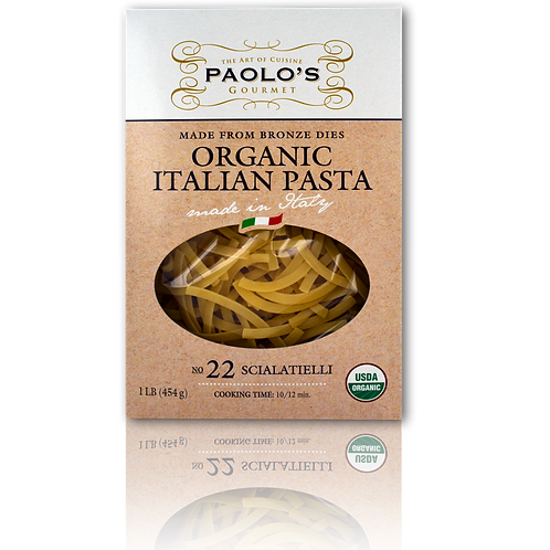 Paolo's Organic Bronze Die Scialatielli #22