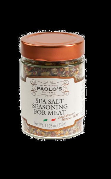 SEA SALT SEASONING FOR MEAT PAOLO PK/SZ:  6/11.28OZ