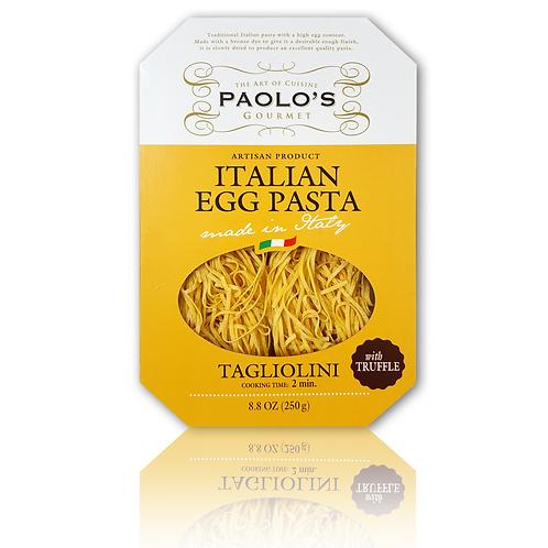 Tagliolini w/Truffle Nest Egg Pasta