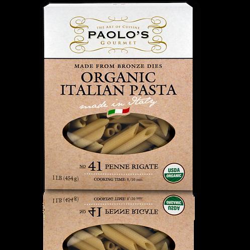 Paolo's Organic Pasta Penne Rigate