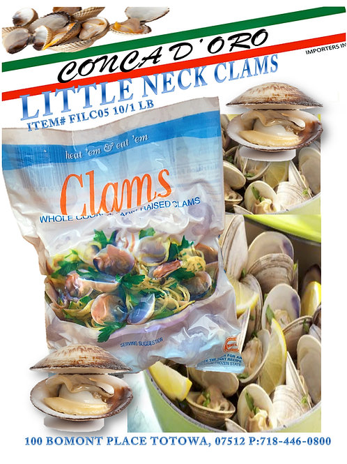 Little Neck Clams 20/8 oz