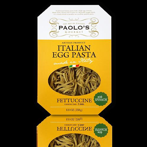 Spinach Fettuccine Nest Egg Pasta