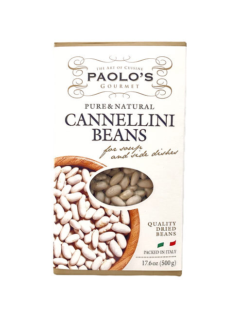 CANNELLINI WHITE BEANS DRY