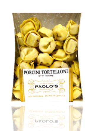 Porcini Tortelloni Paolos Fresh Pasta 12/13 oz