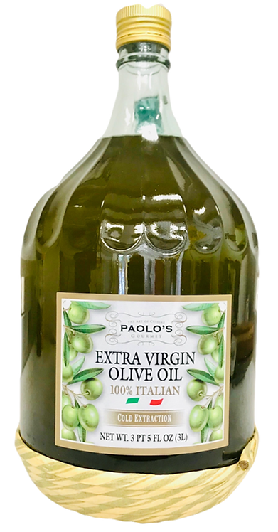 EXTRA VIRGIN OIL WITH STRAW PAOLO PK/SZ:  2/3 LT