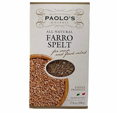 FARRO SPELT PK/SZ: 20/500 GR