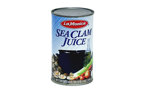 Sea Clam Juice La Monica 12/46 oz