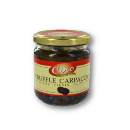 CIRO CARPACCIO SLICED TRUFFLES 12/180 GR