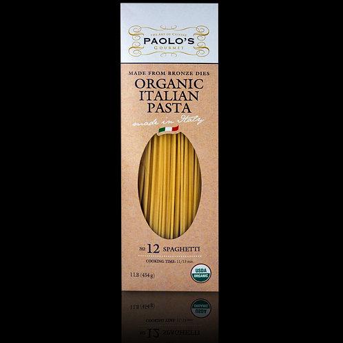 Paolo's Organic Bronze Die Spaghetti #12