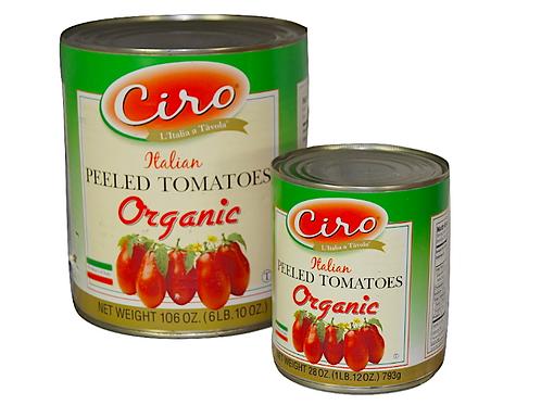 Ciro Peeled Organic Tomatoes