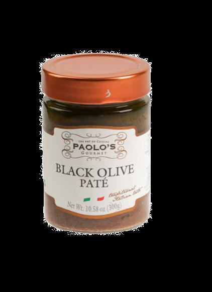 PATE OLIVE BLACK PAOLO PK/SZ:  6/10.58OZ