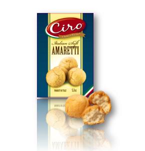 AMARETTI COOKIES CIRO SOFT BOX   12/170 GR