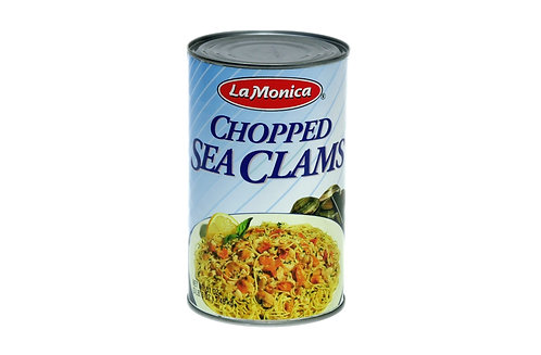 Chopped Sea Clams La Monica 12 51 oz