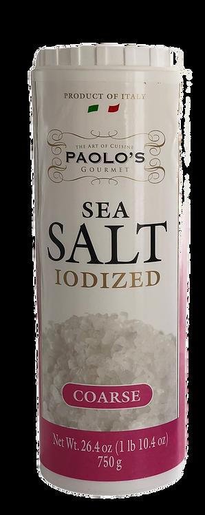 SEA SALT(COARSE)ITALY  PAOLO   PK/SZ:  12/750 GR