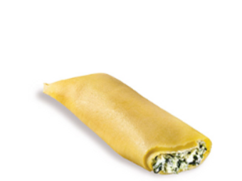 Cannelloni w/Ricotta Cheese & Spinach