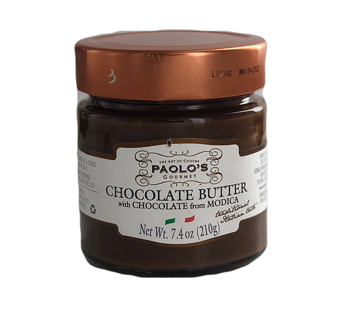 CHOCOLATE BUTTER SPREAD PAOLO PK/SZ:  6/7.4 OZ