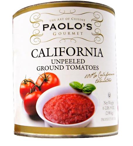 California Paolo Unpeeled Tomatoes