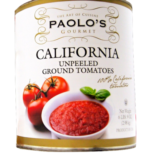 California Paolo Unpeeled Tomatoes