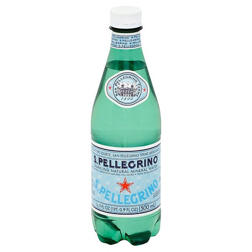 San Pellegrino Sparkling & Natural  Plastic Btls 24/16.9 oz